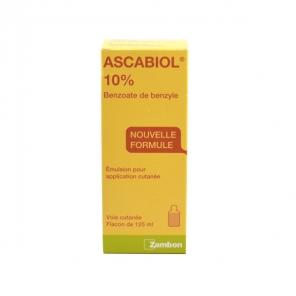Ascabiol 10% émulsion pour application cutanée 125ml