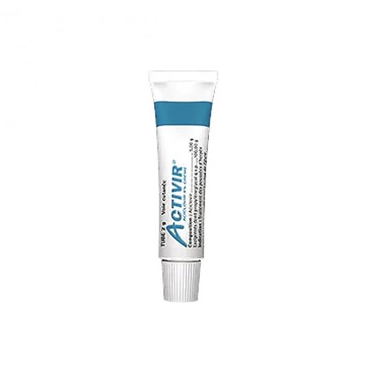 Activir 5% crème sans pompe 2g
