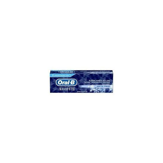 ORAL B 3D WHITE ARTIC FRESH 75ML