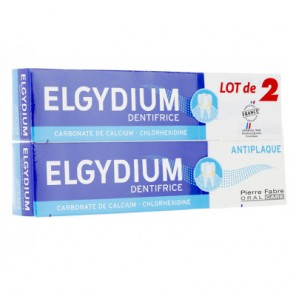 ELGYDIUM ANTIPLAQUE LOT 2*75ML