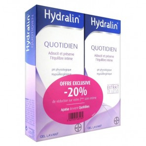HYDRALIN APAISA LOT 2X200ML
