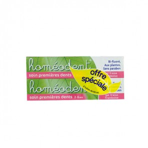 Homeodent soin 1ères dents x2