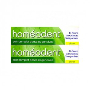 Homeodent citron complet 75mlx2