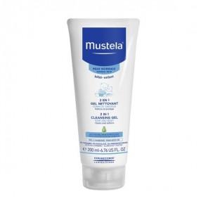 Mustela 2 en 1 gel nettoyant peux normales 200ml