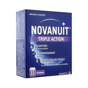 Sanofi Novanuit trouble du sommeil 30 gélules