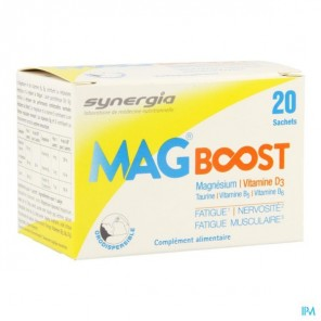 SYNERGIA MAG BOOST 20SACHETS