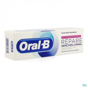 ORAL B REPARE GENCIVES & EMAIL DOUX