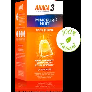 ANACA3 INFUSION MINCEUR NUIT 24 SACHETS