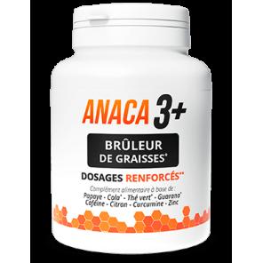 ANACA 3 + BRÛLEUR DE GRAISSES 120 GÉLULES