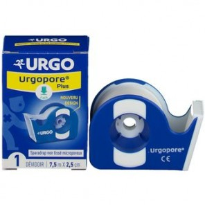 URGOPORE PLUS SPAR 2,5X7,5CM 1