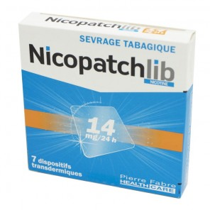 NICOPATCHLIB 14 MG/24H PATCH 7