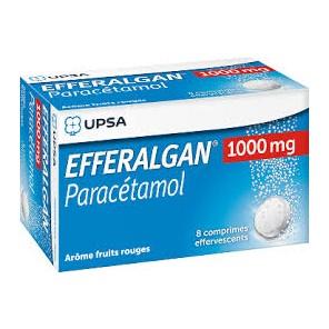 EFFERALGAN 1000MG CPR EFFV TB8