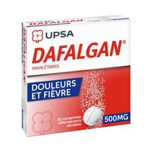DAFALGAN 500MG CPR EFFV BT16