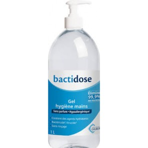 BACTIDOSE GEL HYD-ALC 1L SS PARF