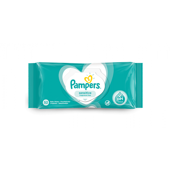 PAMPERS LINGETTES X64