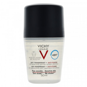 VICHY HOM DEO BILLE 48H ANTI-TRACES 50ML