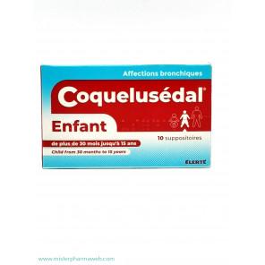 COQUELUSEDAL ENF SUP BT10