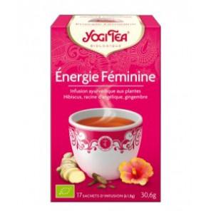 YOGI TEA ENERGIE FEMININE BIO -NEW SACH17