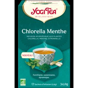 YOGI TEA CHLORELLA MENTHE