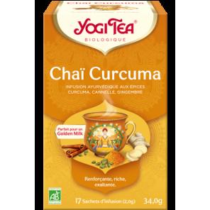 YOGI TEA CHAI CURCUMA SACH 17