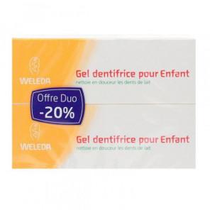 WELEDA GEL DENTRIFRICE ENFANT 50MLX2