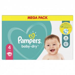 PAMPERS BDRY MEGA PACK T4 X88