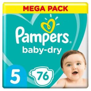 PAMPERS BDRY T5 MEGA PACK X76