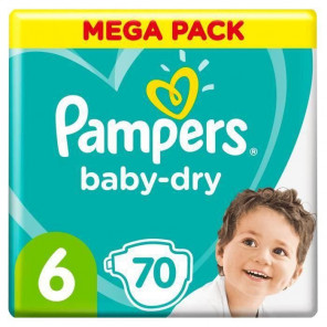 PAMPERS BDRY T6 X70