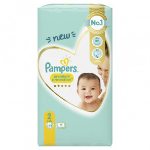PAMPERS PREMIUM T2 52 COUCHES