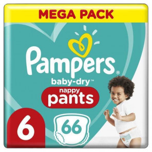 PAMPERS PANTS T6 X66 COUCHES