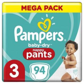 PAMPERS MEGA PACK PANTS T3
