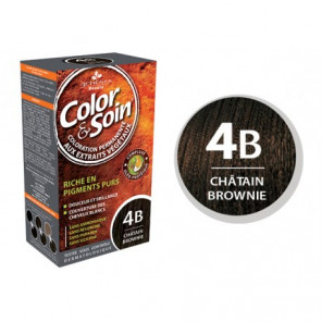 COLOR&SOIN CHAT BROWNIE 4B KIT 4