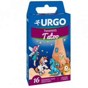 URGO TATOO BTE16 PANSEMENTS