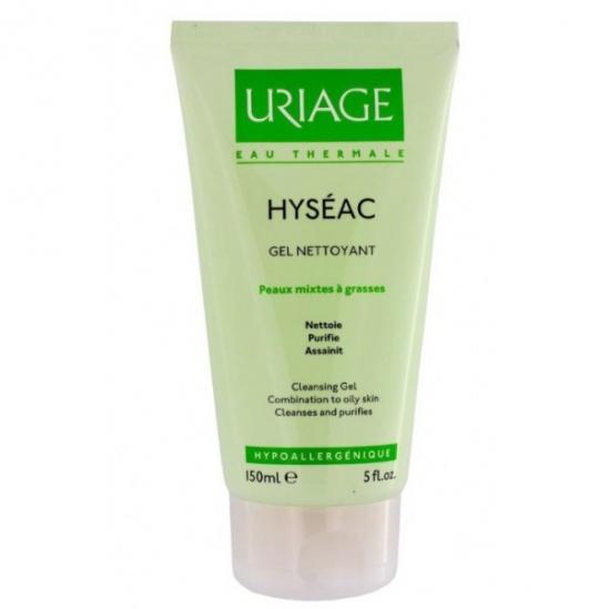 Uriage hyséac gel nettoyant doux 150ml