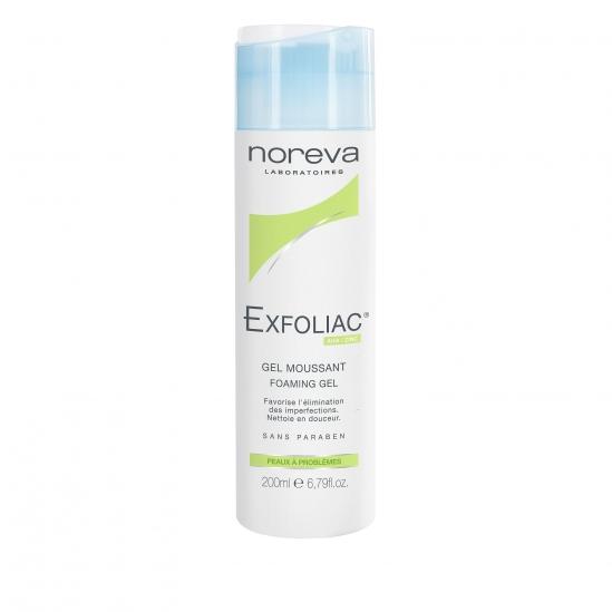 Noreva led exfoliac gel moussant 200ml