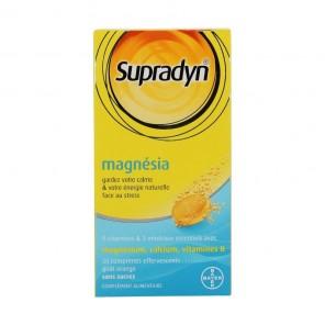 Supradyn magnésia 30 comprimés effervescents