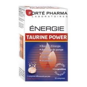 Forté pharma énergie taurine power 30 comprimés