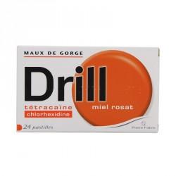 Drill Miel Rosat 24 Pastilles à Sucer