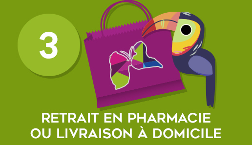 Retrait à la pharmacie
