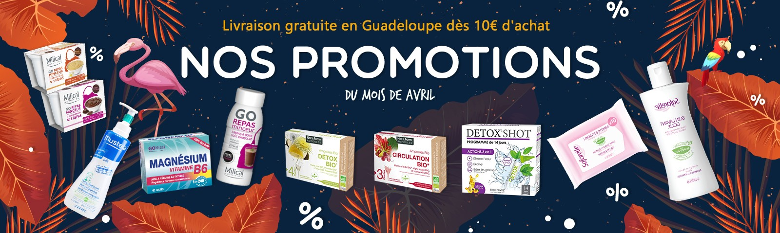 Promotions Avril 2019